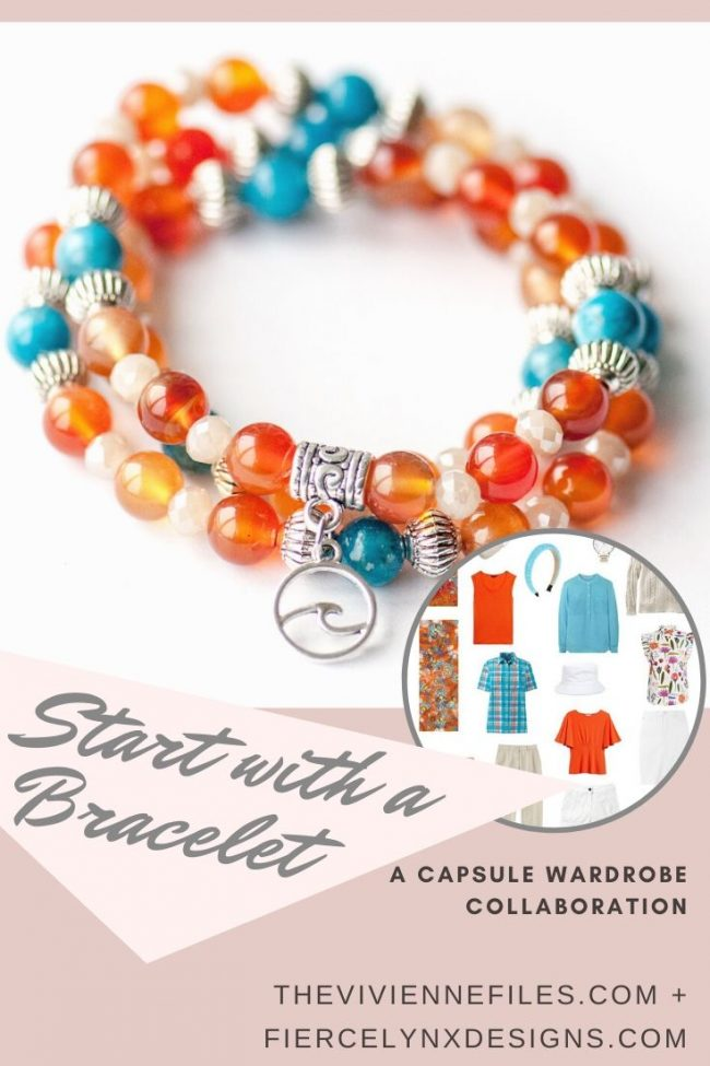 how to build a capsule wardrobe starting with a July birthstone bracelet (1)