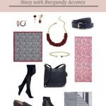 Accessories for an Autumn Weekly Timeless Wardrobe + Burgundy Accents!