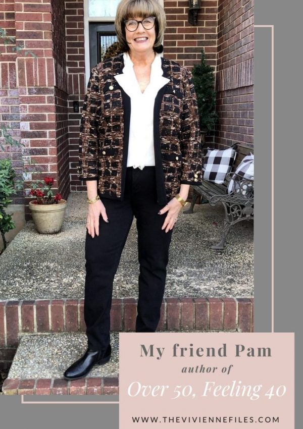 "INTRODUCING MY FRIEND PAM – AUTHOR OF ""OVER 50, FEELING 40"""