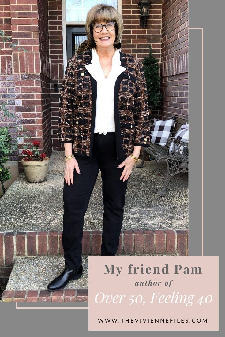 """INTRODUCING MY FRIEND PAM – AUTHOR OF """"OVER 50, FEELING 40"""""""