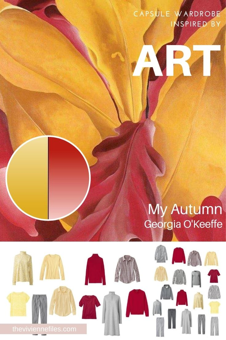 START WITH ART: BUILDING A TRAVEL CAPSULE WARDROBE BASED ON MY AUTUMN BY GEORGIA O'KEEFFE