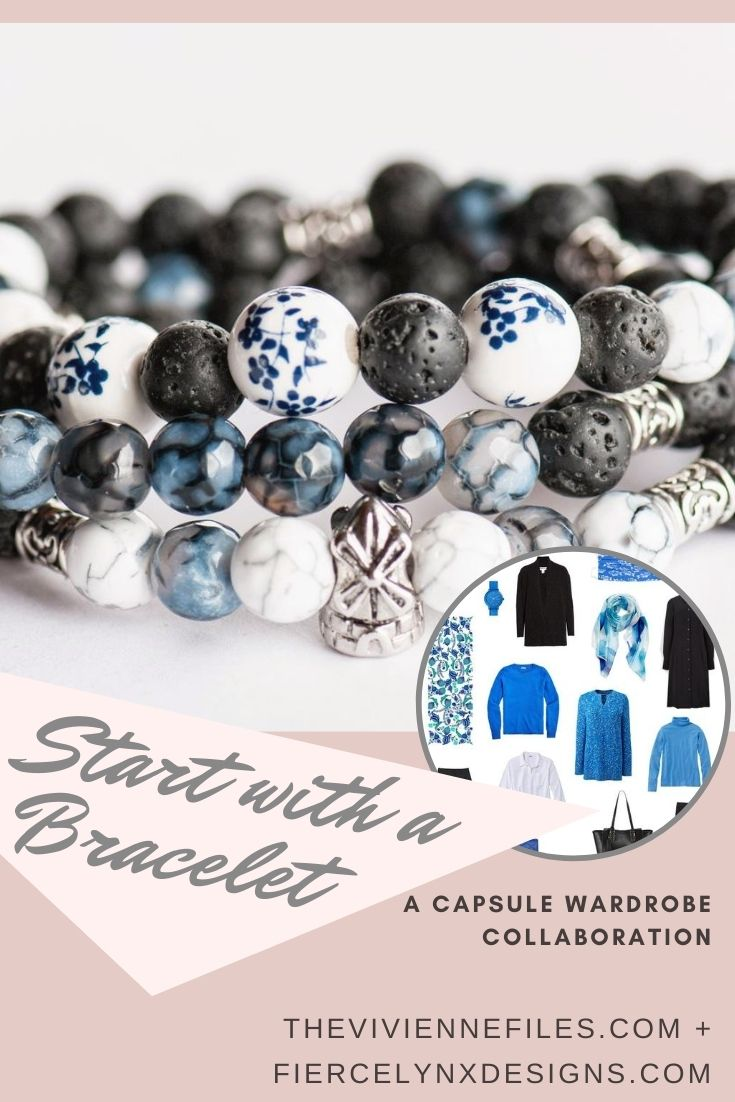 how to build a capsule wardrobe starting with a bracelet Voyage to Amsterdam