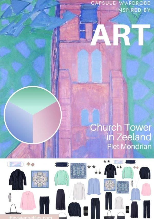 START WITH ART: CHURCH TOWER IN ZEELAND BY PIET MONDRIAN