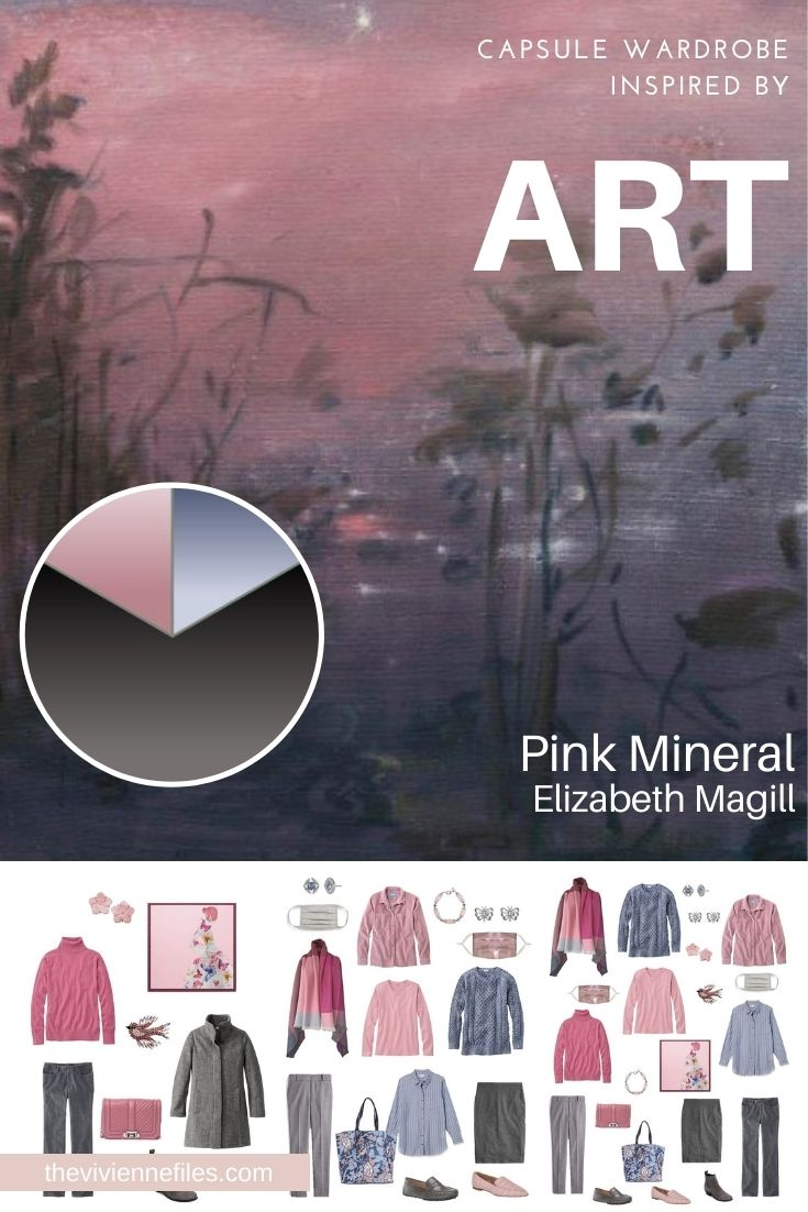 START WITH ART: PINK MINERAL BY ELIZABETH MAGILL
