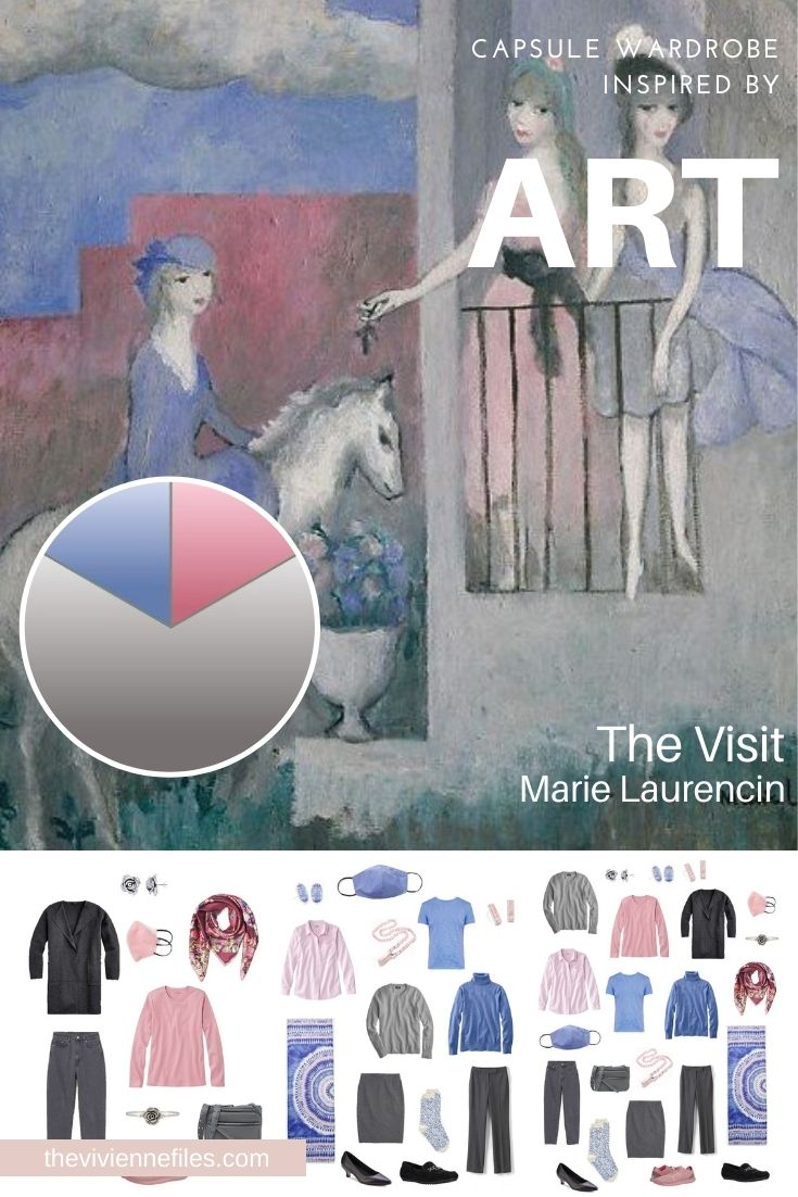 START WITH ART: BUILDING A TRAVEL CAPSULE WARDROBE BASED ON THE VISIT BY MARIE LAURENCIN