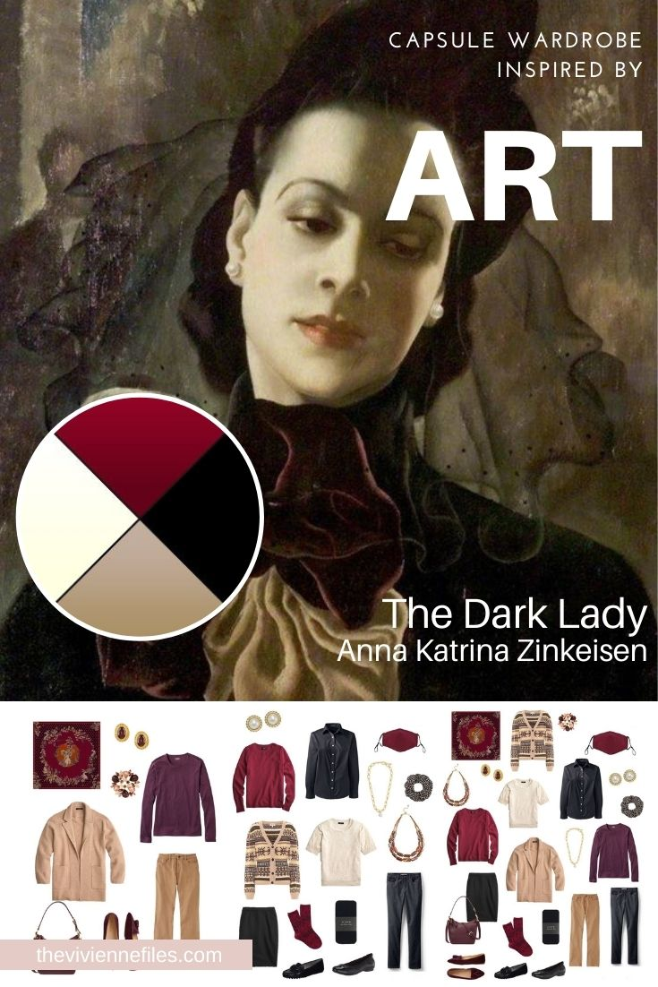 START WITH ART: THE DARK LADY BY ANNA KATRINA ZINKEISEN