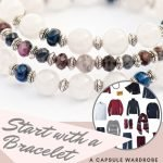 how to build a capsule wardrobe starting with a Sapphire birthstone bracelet