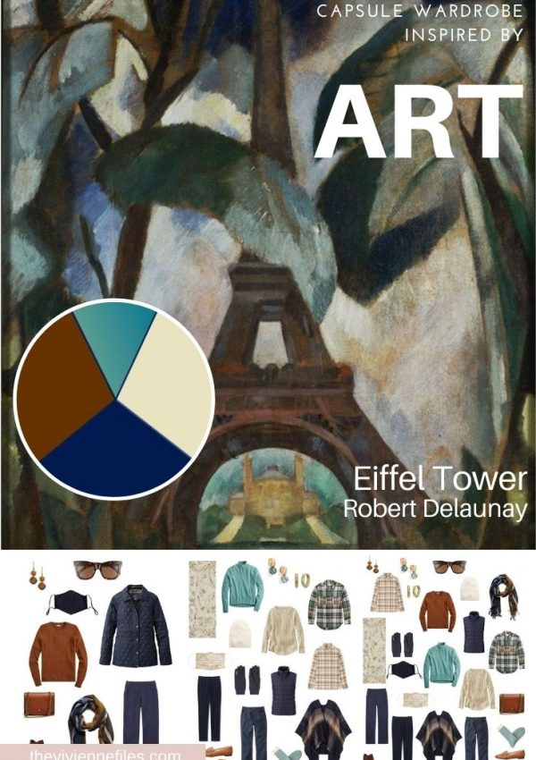 REVISITING EIFFEL TOWER BY ROBERT DELAUNAY