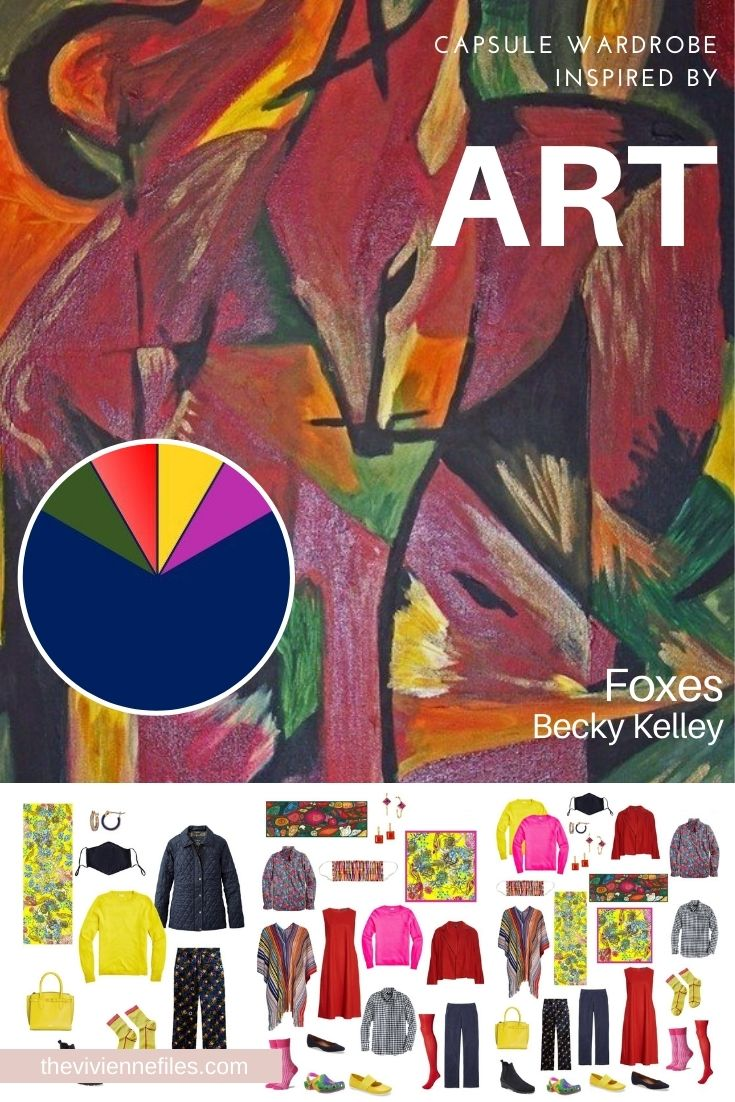 START WITH ART: REVISITING FOXES BY BECKY KELLEY