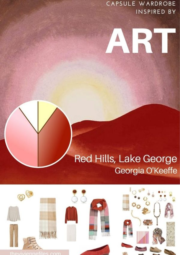 START WITH ART: ADDING ACCESSORIES – RED HILLS, LAKE GEORGE BY GEORGIA O'KEEFFE