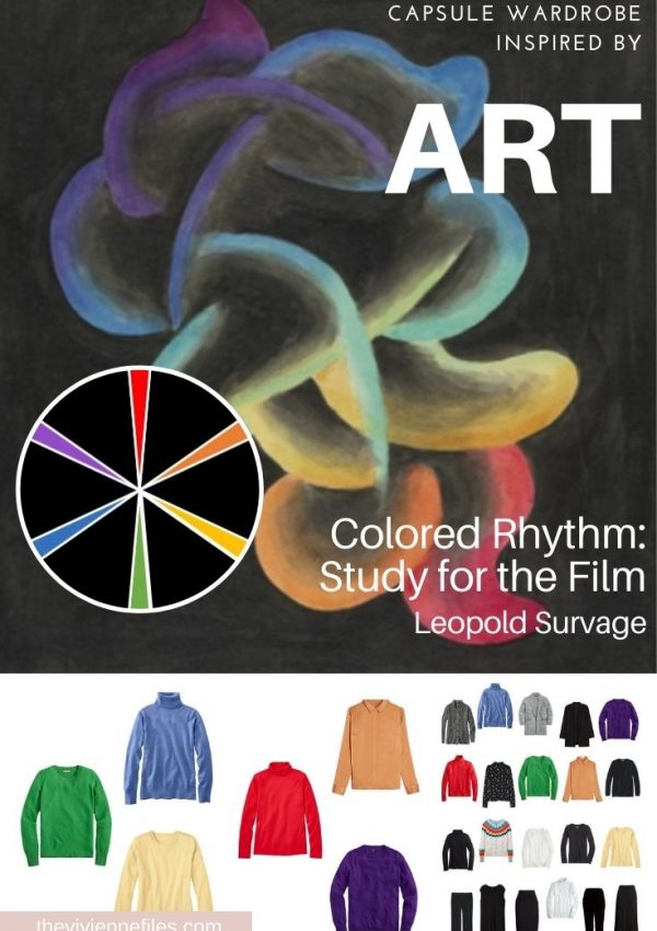 START WITH ART: COLORED RHYTHM: STUDY FOR THE FILM BY LEOPOLD SURVAGE
