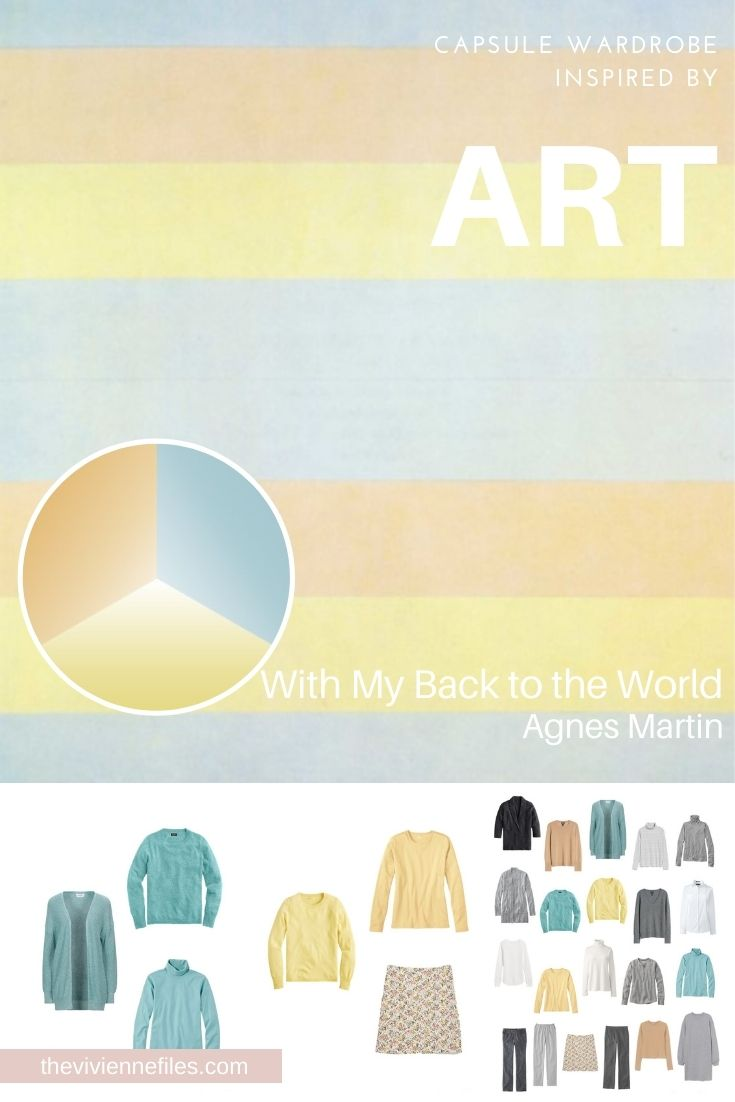 START WITH ART_ WITH MY BACK TO THE WORLD BY AGNES MARTIN