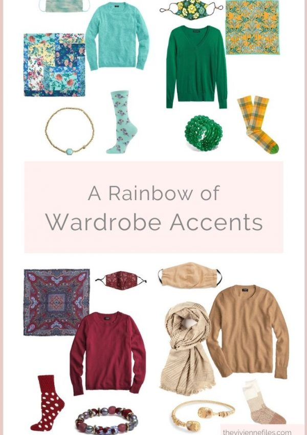 A RAINBOW OF WARDROBE ACCENTS! (PLUS A FEW NEUTRALS…)