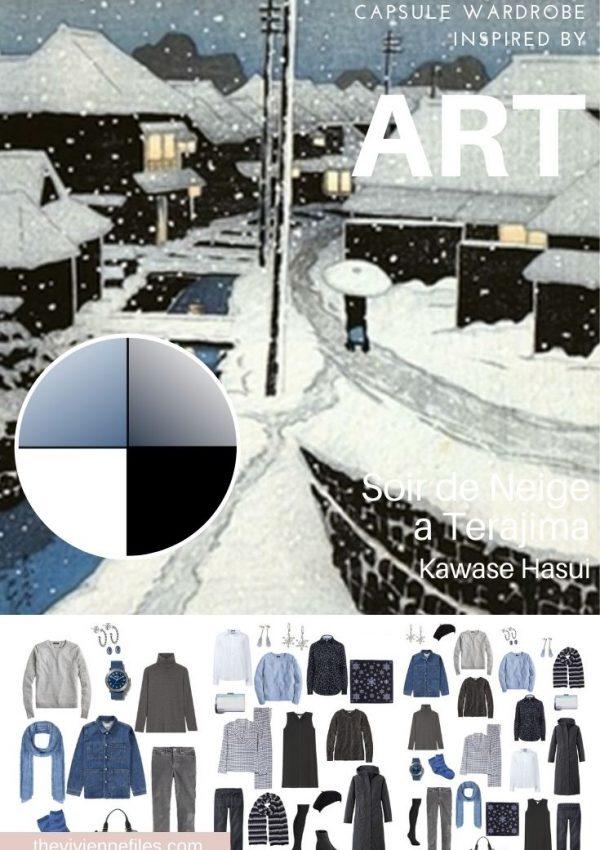 START WITH ART: SOIR DE NEIGE A TERAJIMA BY KAWASE HASUI