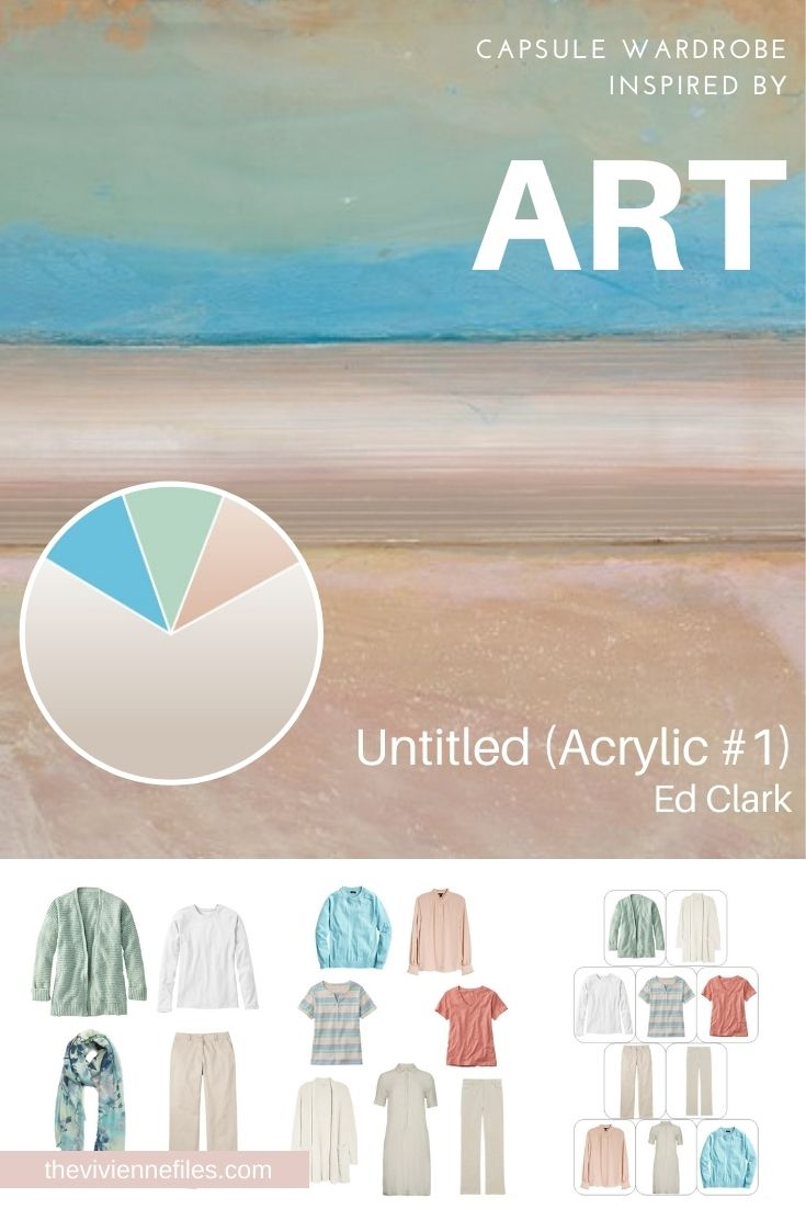 PERFECT 10 PACKING? START WITH ART: UNTITLED (ACRYLIC #1) BY ED CLARK