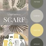 START WITH A SCARF_ SUMMER PALMS SILK SQUARE BY ECHO