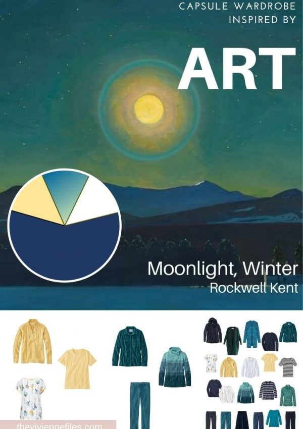 START WITH ART_ A GARDE-ROBE DU MOIS BASED ON MOONLIGHT, WINTER BY ROCKWELL KENT