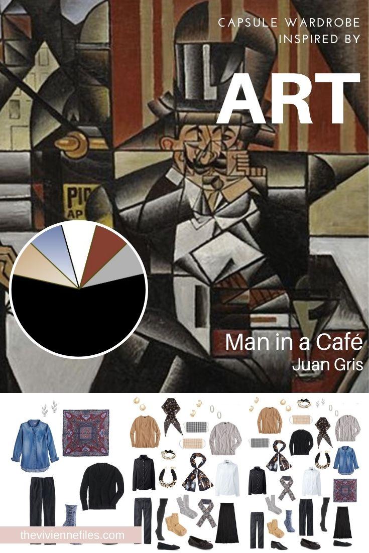 START WITH ART: MAN IN A CAFÉ BY JUAN GRIS