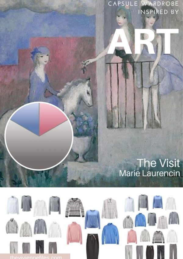 START WITH ART: REVISITING (AGAIN!) THE VISIT BY MARIE LAURENCIN