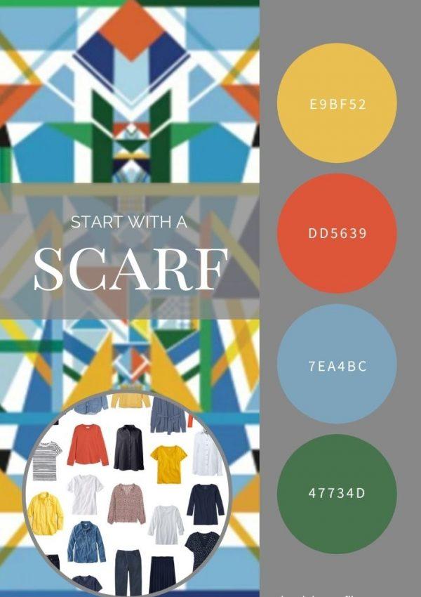 START WITH A SCARF_ TRIANGLE MAGIC BY JESSIE ZHAO NEW YORK