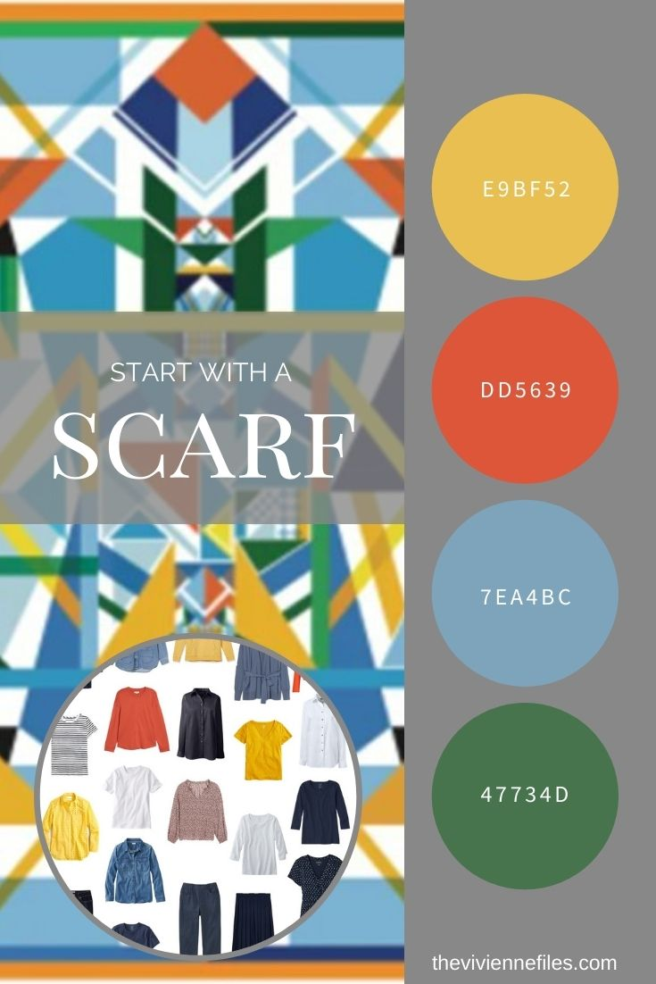 START WITH A SCARF_ TRIANGLE MAGIC BY JESSIE ZHAO NEW YORK