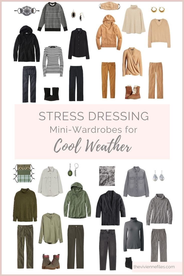 STRESS DRESSING MINI-WARDROBES FOR COOL WEATHER