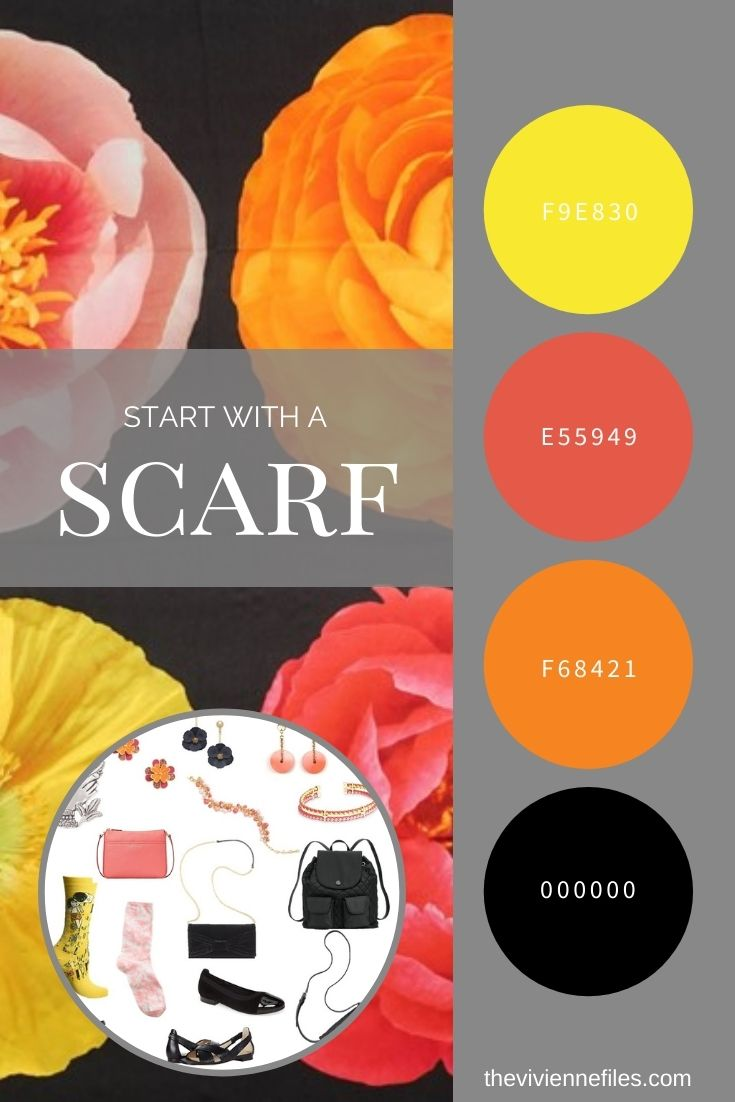 ACCESSORIES! REVISITING THE PHOTO FLORAL SILK SQUARE BY ECHO