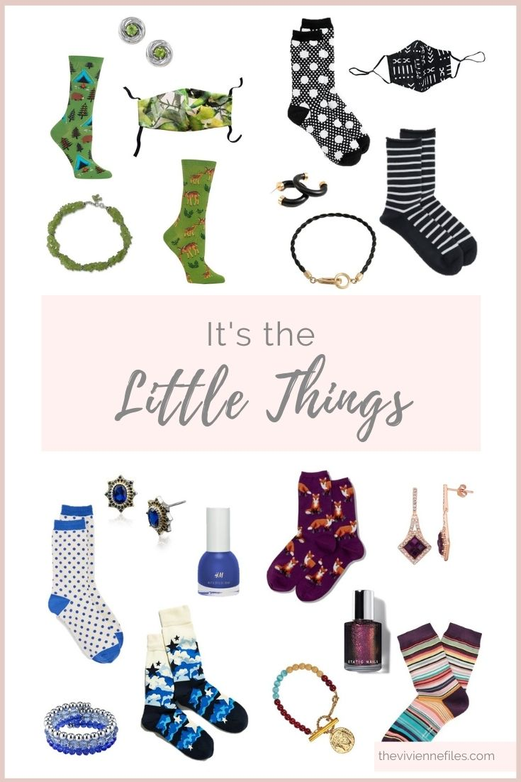 LITTLE THINGS CAN MAKE A DIFFERENCE…