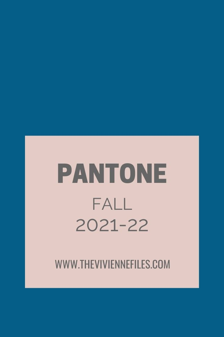 ACCESSORY ACCENT COLORS – PANTONE FALL 202122