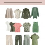13-PIECE SPRING WARDROBES – BLACK AND WHITE, OLIVE AND BEIGE