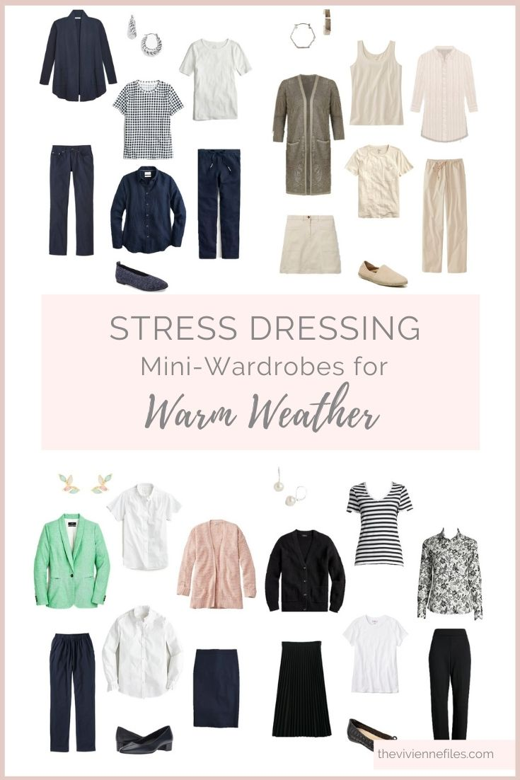ARE YOU READY STRESS DRESSING FOR WARM WEATHER
