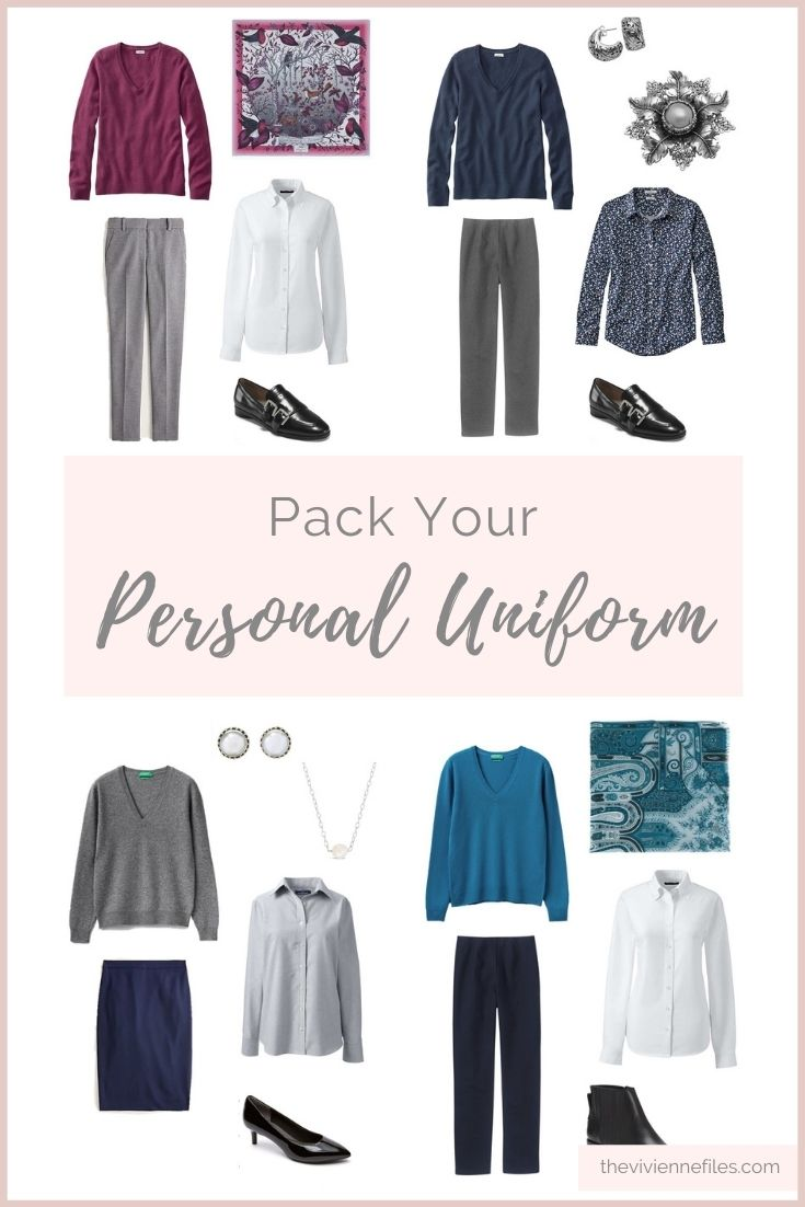 CAN YOU PACK NOTHING BUT YOUR PERSONAL UNIFORM?
