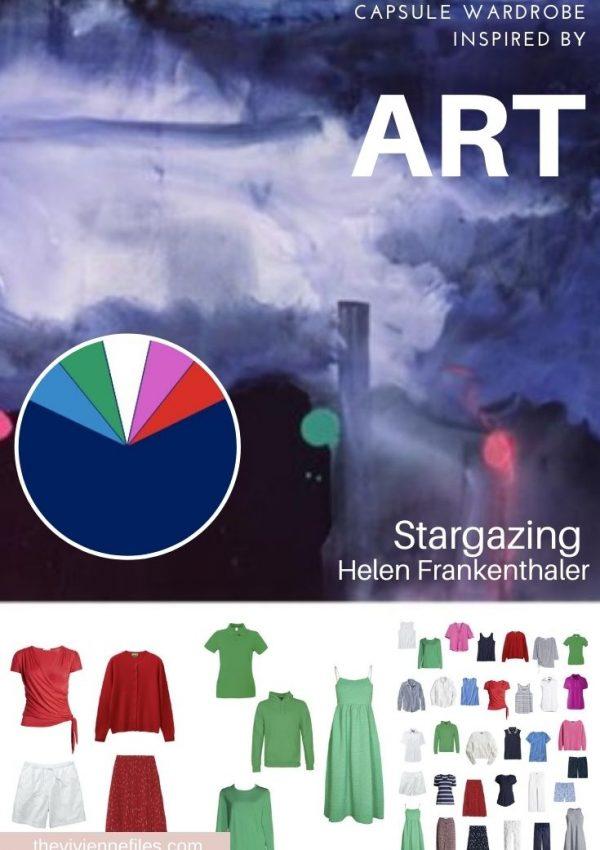 Capsule wardrobe inspired by art -