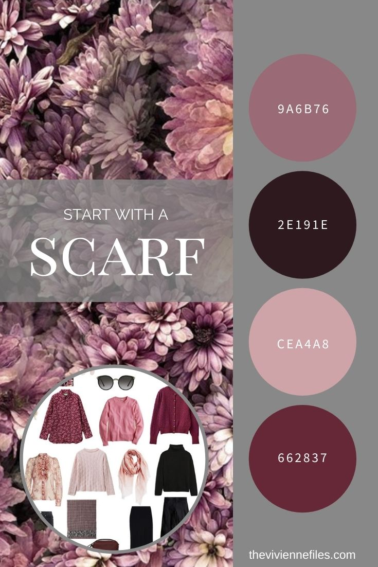 START WITH A SCARF HOMECOMING MUM BY IMAGEDIARY