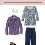 Weekly Timeless Wardrobe #30 – A Print Long-Sleeved Tee Shirt